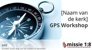 Nieuw: Missie 1:8 GPS Track