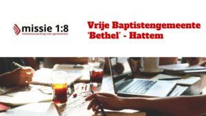 Bethel Hattem volgde traject