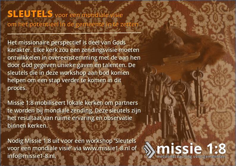 Workshop: 'Sleutels voor een modiale visie'
